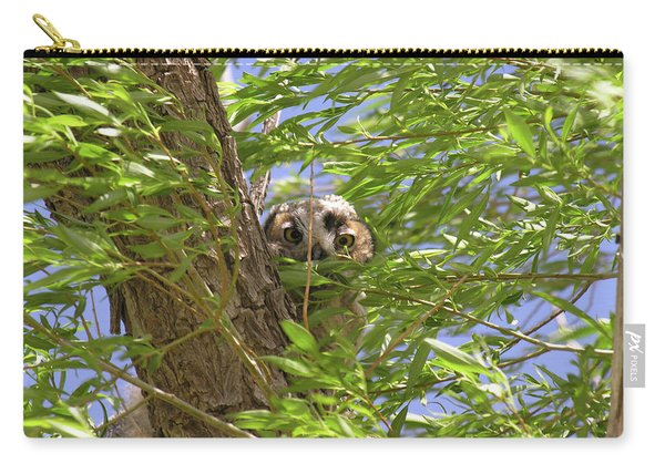 Greathornedowlchick1 Carry-all Pouch