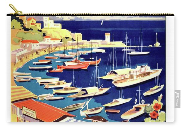 Greece, Coast, Fishing Boats Carry-all Pouch