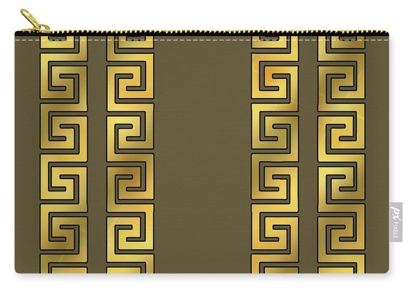 Greek Gold Pattern - Chuck Staley Carry-all Pouch