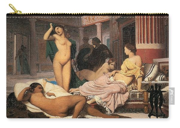 Greek Interior Sketch Jean-lon Grme Carry-all Pouch