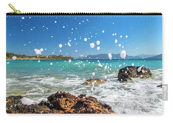Greek Surf Spray Carry-all Pouch
