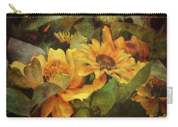 Green And Gold 1068 Idp_2 Carry-all Pouch