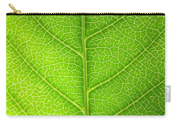 Green Botany -  Part 3 Of 3 Carry-all Pouch