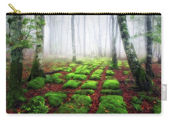 Green Brick Road Carry-all Pouch