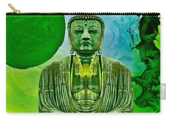 Green Buddha Carry-all Pouch