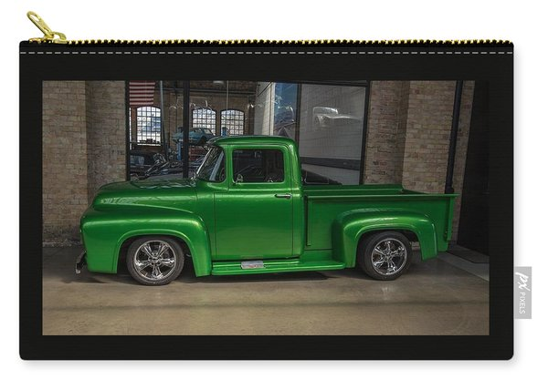Green Car Carry-all Pouch
