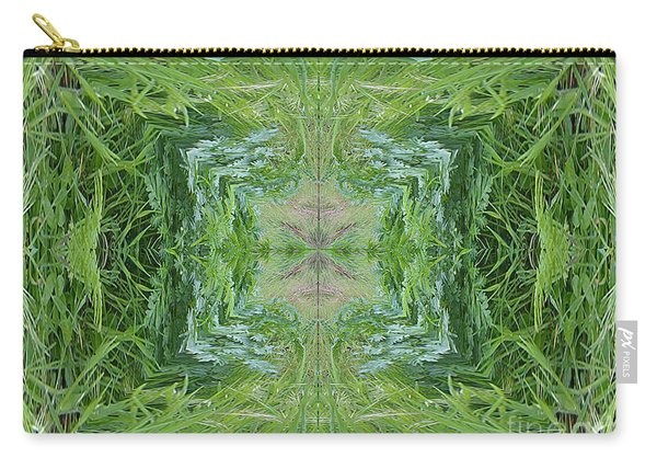 Green Fractal Carry-all Pouch
