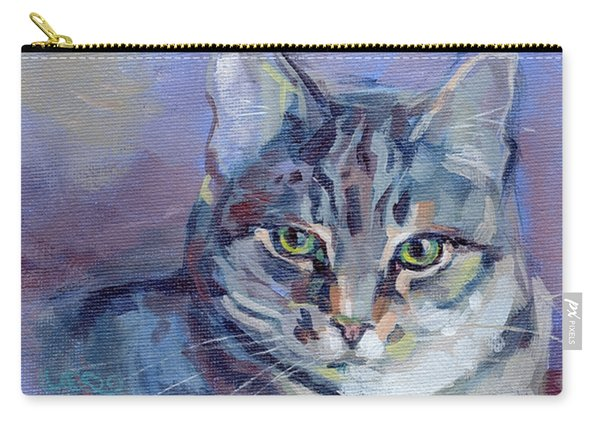 Green Eyed Tabby - Thomasina Carry-all Pouch