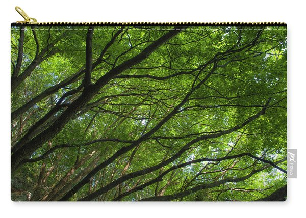Green Forest Carry-all Pouch