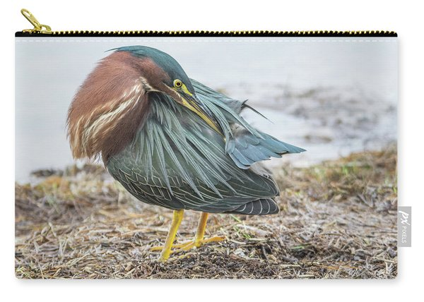 Green Heron 1334 Carry-all Pouch