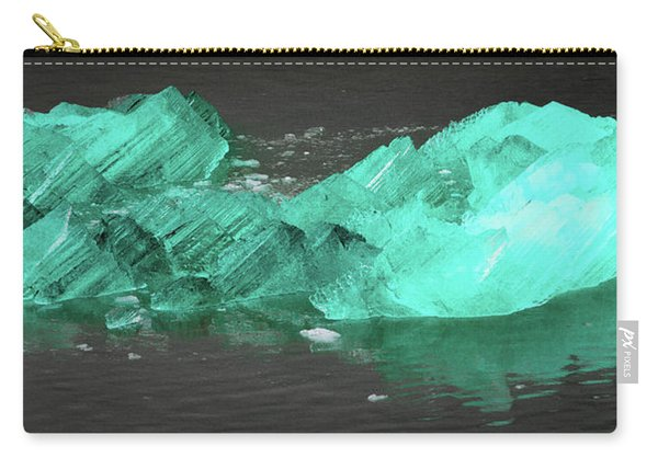 Green Iceberg Carry-all Pouch