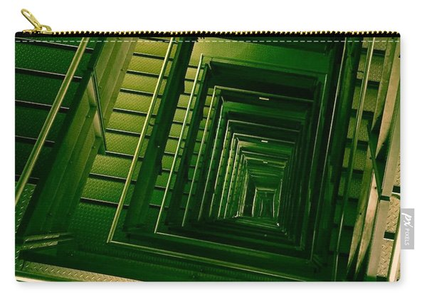 Green Infinity Carry-all Pouch