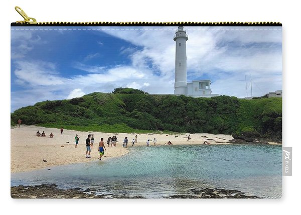 Green Island Beach Carry-all Pouch