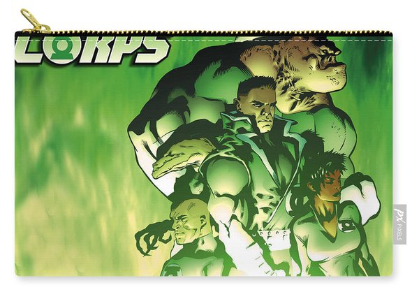 Green Lantern Corps Carry-all Pouch