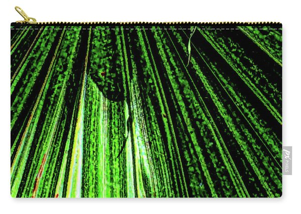 Green Leaf Forest Photo Carry-all Pouch