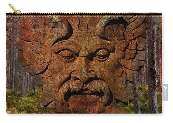 Green Man Of The Forest 2016 Carry-all Pouch