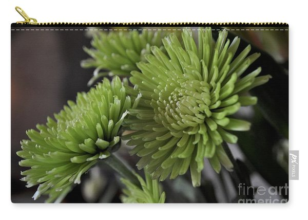 Green Mums Carry-all Pouch