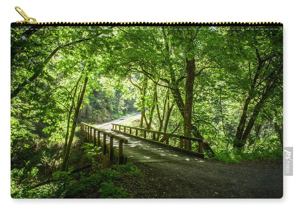 Green Nature Bridge Carry-all Pouch
