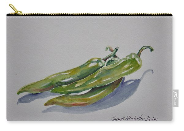 Green Peppers Carry-all Pouch
