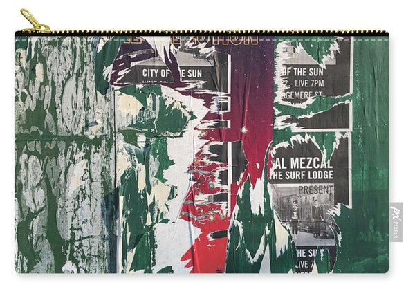 Green Placard Carry-all Pouch
