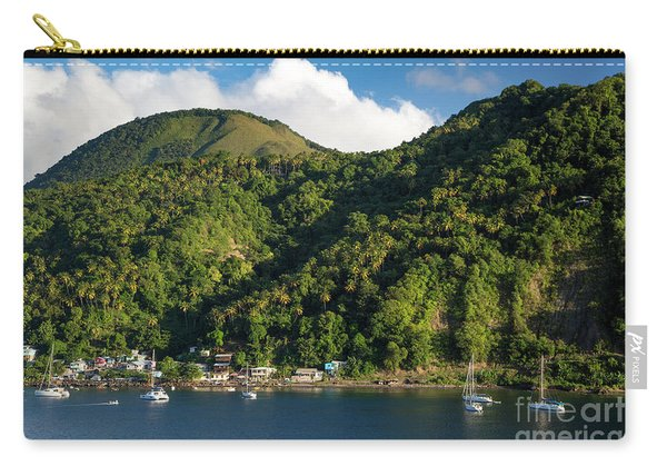 Green St Lucia Carry-all Pouch