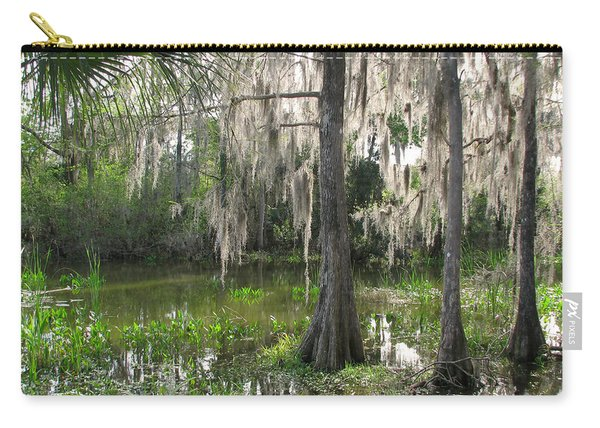 Green Swamp Carry-all Pouch