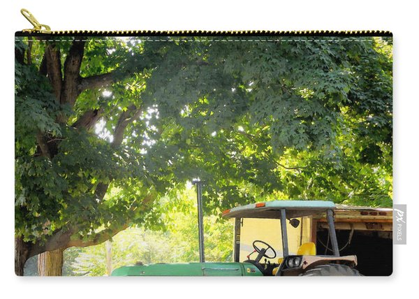 Green Tractor 1 Carry-all Pouch