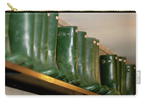 Green Wellies Carry-all Pouch