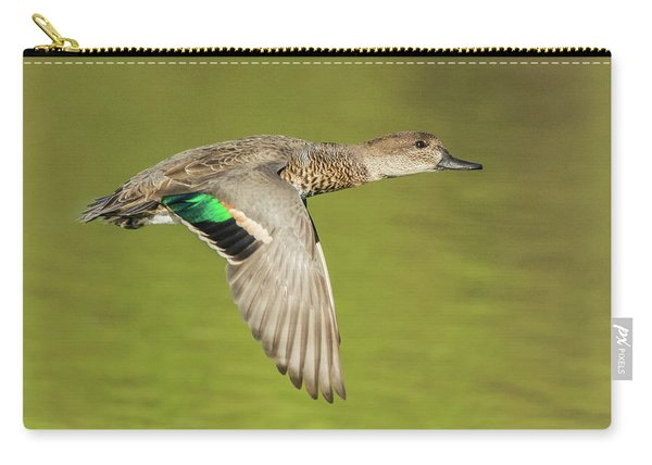 Green-winged Teal 6320-100217-2cr Carry-all Pouch