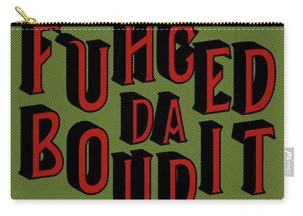 Greenred Fuhgeddaboudit Carry-all Pouch
