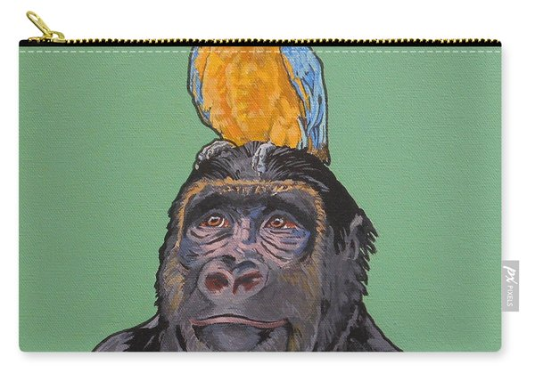 Gregory The Gorilla Carry-all Pouch