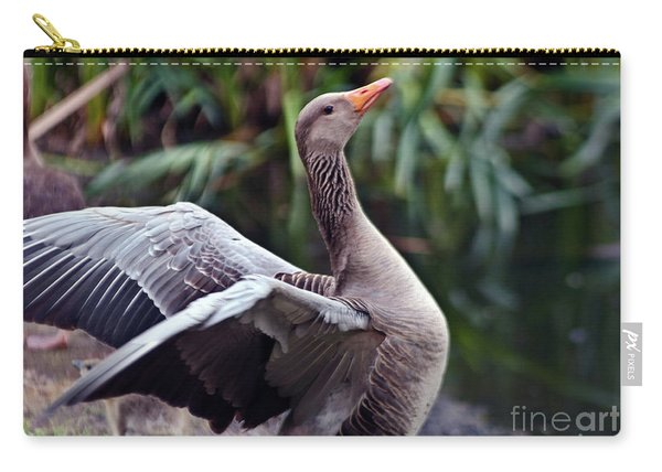 Greylag Goose Poetry Carry-all Pouch