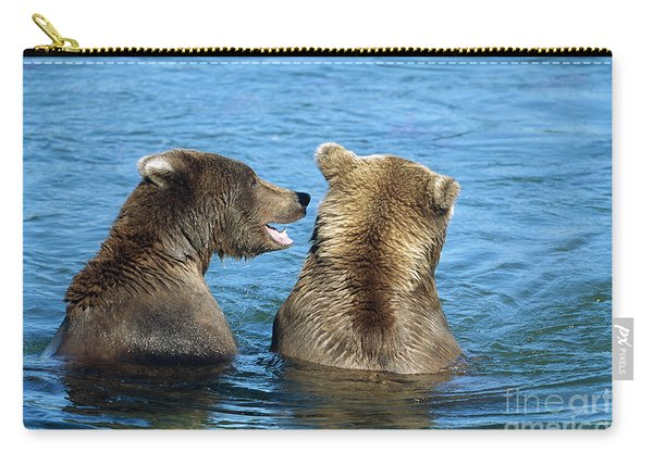 Grizzly Bear Talk Carry-all Pouch