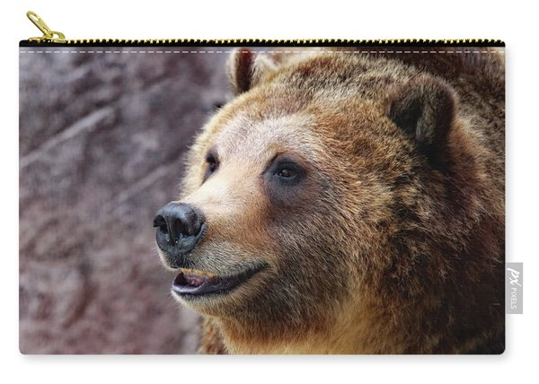 Grizzly Smile Carry-all Pouch
