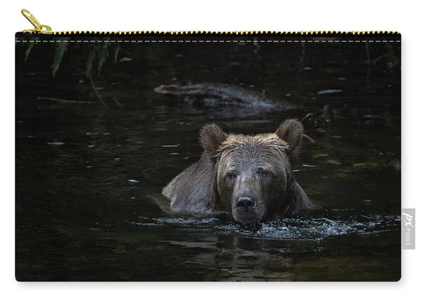 Grizzly Swimmer Carry-all Pouch