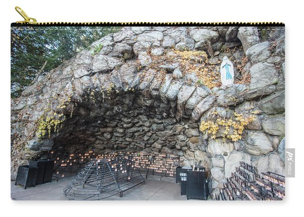 Grotto Of Our Lady Of Lourdes 2 Carry-all Pouch
