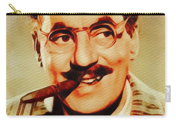 Groucho Marx, Hollywood Legend Carry-all Pouch