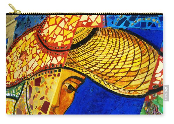 Growing Edgewater Mosaic Carry-all Pouch