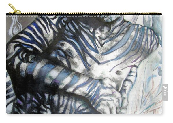 Growing Pains Zebra Boy  Carry-all Pouch