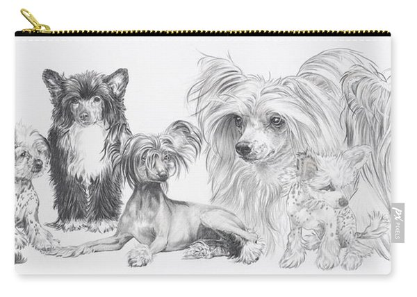 The Chinese Crested And Powderpuff Carry-all Pouch