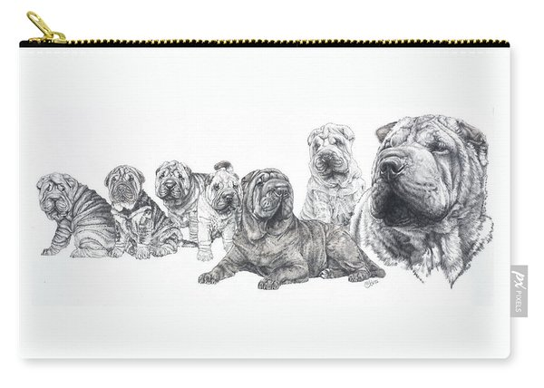 Mister Wrinkles And Family Carry-all Pouch