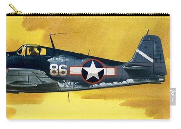 Grumman F6f-3 Hellcat Carry-all Pouch