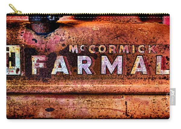 Grunge Mccormick Farmall  Carry-all Pouch
