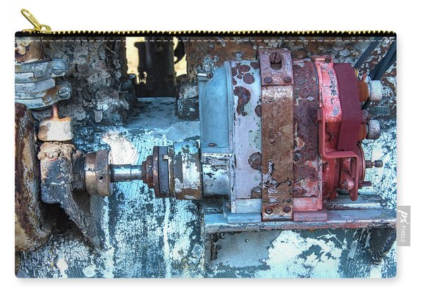 Grungy Engine Carry-all Pouch