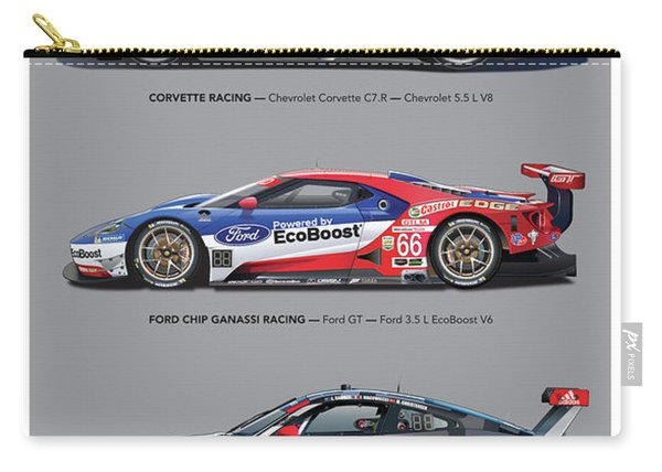 Gt Le Mans Poster Carry-all Pouch