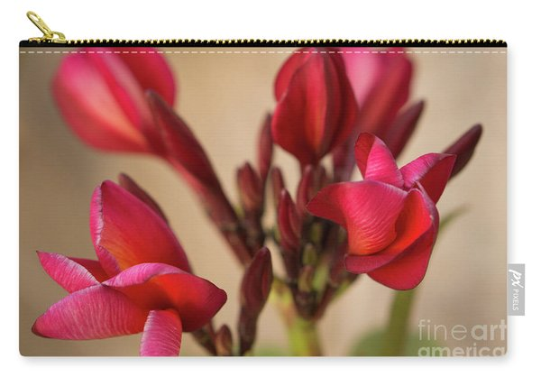 Guadalupe Fernandez Plumeria Carry-all Pouch