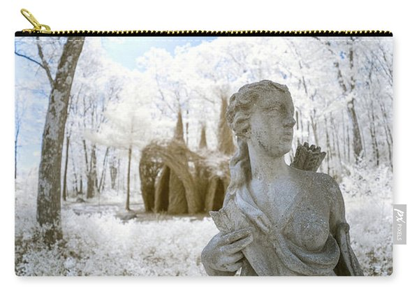 Carry-all Pouch featuring the photograph Guarding The Fort 2 by Brian Hale