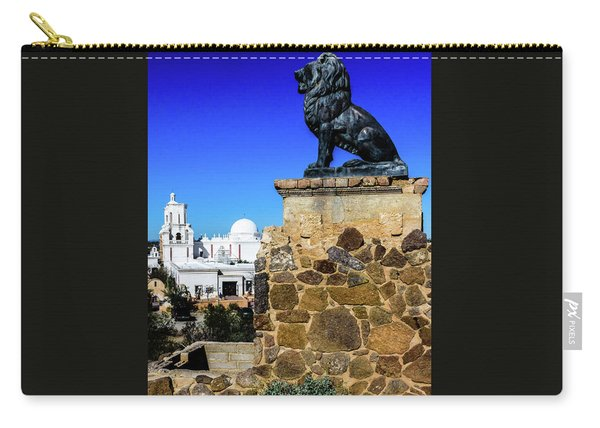 Guarding The Grotto - San Xavier Mission - Tucson Arizona Carry-all Pouch