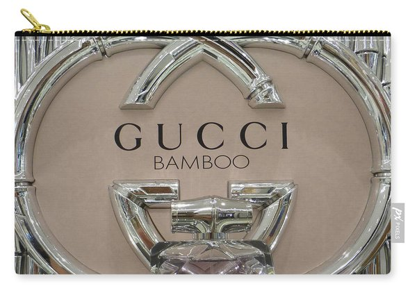 Gucci Bamboo Carry-all Pouch