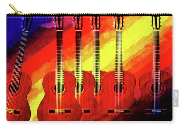Guitar Fantasy One Carry-all Pouch